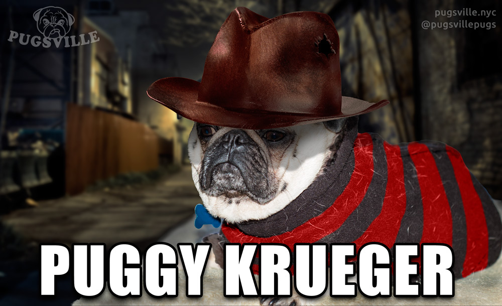 Happy Friday The 13th From Puggy Krueger Pugsville Lord Byron